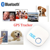 Wholesale Orignal Nut Smart Finder Bluetooth Tracker Tag for Child Bag Wallet Key Finder GPS Locator Alarm Colors