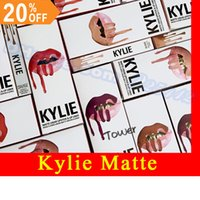 Wholesale Kylie Lip Kit by Kylie Jenner MATTE Exposed Posie Candy Koko Dolce Liquid Lipstick BRAND Various Colors