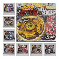 Wholesale 4D hot sale beyblade Mix different style D beyblade metal fusion Beyblade Spin Top Toy best selling Beyblades free sh