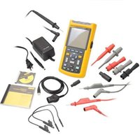 Wholesale FLUKE S Industrial ScopeMeter Oscilloscope Kit with Software FLUKE S Portable industrial universal oscilloscope fluke
