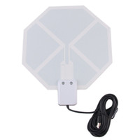 Wholesale in Stock Ultra Thin Lightweight Flat Digital Indoor TV P HD Television Antenna New Arrival