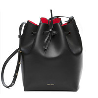 american hand bags - Newest Mansur Gavriel bucket bag women genuine leather hand bag lady real leathe shoulder bag cross bag