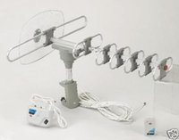 Wholesale New HD TV Outdoor Rotating Digital Antenna Kit With Remote
