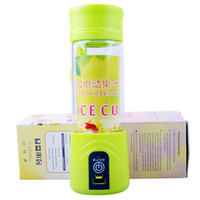 Wholesale Electric Juice Fruit Cup Portable Glass Bottle Little Cyclones Rechargeable Automatic ML mAh Battery DC3 V Food Grade Material Home