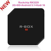 Wholesale R BOX Kodi android smart tv box R BOX G G Rockchip RK3229 Quad Core Android Bluetoot Digital display