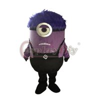 adult anger - Despicable Me Minion Mascot Costume For Adults Anger Minion Cartoon Mascot Suit D0301