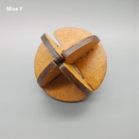 adult hobbies - Perfectly Wooden Toys Patience Hobbies Adult Puzzle Intelligent Lu Ban Ball Lock