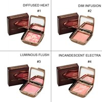 Wholesale NEW Arrival HOURGLASS Makeup Face Blush Ambient Lighting Powder Natural Blusher Palette Long lasting Cosmetic Blush MIQ DHL FREE SHIP