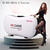 achat en gros de verres film de jeu-VR réalité virtuelle VR Case BOX Upgrade 5 Version Lunettes 3D pour Samsung pour iPhone Films 3D et jeux 3D Cartouche Google