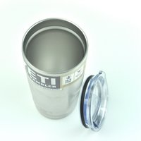 Wholesale YETI Bilayer Stainless Steel Insulation Cup oz oz oz Pink oz Cups Cars Beer Mug Large Capacity Mug