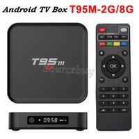 Compra 2gb 8gb xbmc-4K inteligente Android TV Box T95M Kodi 16,0 Amlogic S905 2 GB 8 GB de 2,4 GHz WIFI XBMC Android5.1 de cuatro núcleos mismo MXQ PLUS