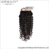 Brazilian Hair beauty curly - 10 quot quot unprocessed Brazilian Human Hair Freestyle Kinky Curly Lace Top Closure Color1b hot beauty hair