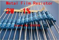 Venta al por mayor 20PCS-2W Resistencia Metal Film + -1% 2W 300K ohmios envío gratuito