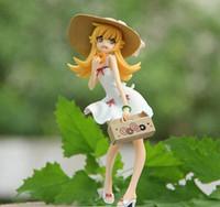 bakemonogatari shinobu oshino - 1 piece cm Retail Anime Monogatari Bakemonogatari Oshino Shinobu Painted PVC Action Figure Collection Model Toy