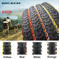 Wholesale WEST BIKING Bicycle Tire ColorS H TPI Soft Side Mountain Bike Tires Cycling Tyre