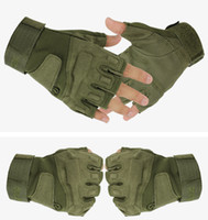 Wholesale Blackhawk Hell Storm Gloves Military Tactical Gloves Slip Outside Riding Cycling Climbing Fighting Half finger Gloves