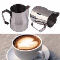 al por mayor taza jarra-Venta al por mayor 350CC 500CC taza Copa jarra de leche Latte Art espumejea Taza de jarro de sabotaje Taza de la taza de café