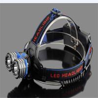 aa battery headlamp - Super bright LM xCREE XML T6 LED AA AAA Headlamp Headlight Head Lamp Light x18650 battery EU US AU UK Car Charger