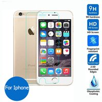 Wholesale For iphone s s c s plus i7 Tempered Glass Screen Protector Protective Film on Iphone6