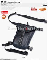 Wholesale komine SA waterproof leg bag motorcycle PU PVC waist pack mobile phone documents bag motorcycle ride bag L