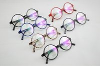 Wholesale New Retro vintage round super weightTR90 frame for prescription glasses multi color options with price freeshipping