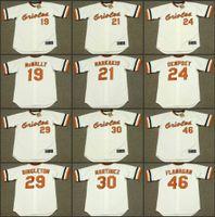 baltimore orioles nick - Men DAVE McNALLY NICK MARKAKIS RICK DEMPSEY KEN SINGLETON DENNIS MARTINEZ Baltimore Orioles Baseball Jersey stitched
