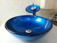 bathroom basin furniture - clear tempered glass basins for bathroom furniture glass basins for bathrooms Modern Design Mirrored Tempered Glass Wash Basin