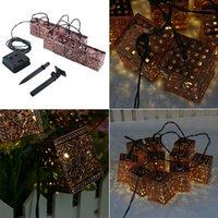 10LED Lantern Light cordes pour Noël Wed Outdoor Cadeaux intérieur lampe d'éclairage