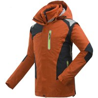 Wholesale NEW Winter Hiking Jacket Men Outdoor Jacet In Warm Fishing Tourism Mountain Ski Jackets mens waterproof jacket