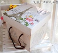 Wholesale Quality gift box storage boxes European style box CM Party goods supplies gifts shop products