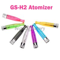 battery match - GS H2 Clearomizer Atomizer E Cigarettes For GS H2 Atomizers Replace CE4 Cartomizer GSH2 tank Match With Evod eGo Batteries Kits In Stock