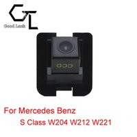 benz vision - For Mercedes Benz S Class W204 W212 W221 Reserved hole Wireless Car Auto Reverse Backup CCD HD Night Vision Rear View Camera