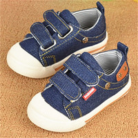 Wholesale 2016 New Arrival Kids Sneakers Boys Shoes Breathable Denim Children Canvas Shoes Years Old cm cm Baby Shoes