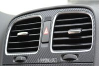 air condition central - Car central dashboard and Air conditioning outlet sticker for Volksvagen VW Golf per set