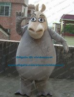 africa rivers - Manful Gray Madagascar Escape Africa Gloria Shermary Geriya Mort Mort Hippo River Horse Hippopotamus Mascot Costume ZZ1107 FS