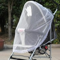 Wholesale Infant Baby Insect Cover Mosquito Net For Pram Yoya Bike Stroller Accessories Car covers Bebek Arabasi Maclaren Island