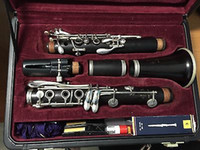 Wholesale Clarinet Buffet Crampon Bb C le Professional R13 Ni Plated b660 Serial