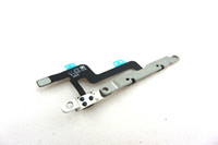 Wholesale For iPhone Volume Button Mute Flex Cable Welding Iron Strip Sheet inch G Mute Switch Silence Cable