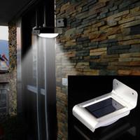 Wholesale 2016 New LED Solar Power Motion Sensor Garden Security Lamp Outdoor Waterproof Light Security Lamp Light