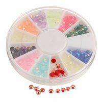 beautiful nail drills - Fashion Beautiful mm Jelly Drill Nails Nail Art Painting Decor Decal Resin Crafts Tiny Beads for Home Kids Toys Cloth Decor