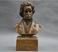 beethoven statue - New Quality Fashion Picture of Chinese culture Statue gt gt German Great Musician Ludwig van Beethoven Bust Bronze Statue