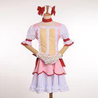 actress halloween costumes - Japan Anime Puella Magi Madoka Magica Kaname Madoka Cosplay Actress Pink Halloween Costume