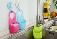Wholesale 30pcs Creative Folding Hanging Silicone Bathroom kitchen Gadget storage Box Silicone Storage Bag Hot storage box organizer