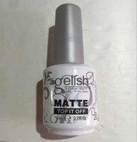 Wholesale Top quality harmony Gelish colors LED UV Gel nail polish Nail art lacquer Soak off nail gel French nail