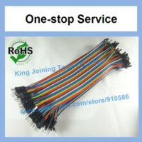 Wholesale 80pin ROW Dupont Cable mm cm pin p p jumper wire Female to Male Other Wires Cables amp Cable Assemblies