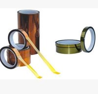 Wholesale 10 mm m imide tape PI tape goldfinger thick Kapton tape high temperature tape can be according to the demand for die cutting