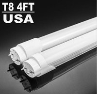 Wholesale Lighting Bulbs Tubes18W LED tube light FT fluorescent lamp T8 G13 V lm mm feet ft tubes warm cold white FREE SEND FEDEX