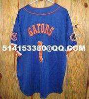Cheap Deluxe Edition Mens lorida Gators #1 Baseball Jersey College Equipment Colosseum Athletics Baseball Jersey