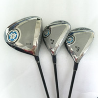 Wholesale New mens Golf Clubs MP900 Golf wood set Golf Driver Fairway woods With Graphite Golf shaft Clubs Golf headcover