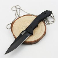 Wholesale High Quality Timberline Tactical Knife Outdoor Survival Hunting Knives Cr13Mov Camping Tool Straight Knife Fixed ABS Handle